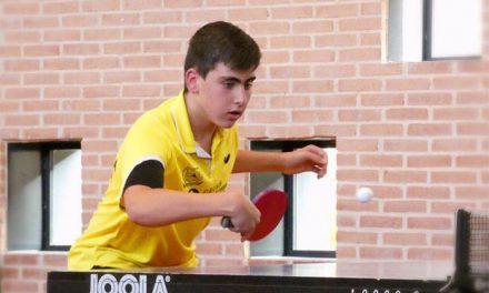 Tres ciudadrealeños participarán en Valladolid en el Torneo Estatal de Tenis de Mesa 2018