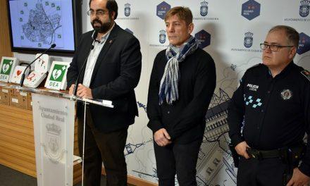 8 nuevos desfibriladores para una Ciudad Real Cardioprotegida