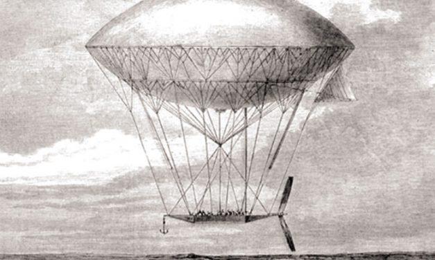 El origen de los dirigibles