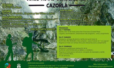 El Patronato Municipal de Deportes oferta un fin de semana senderista en Cazorla