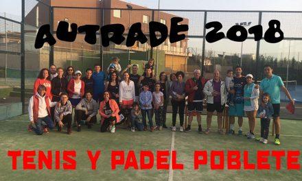 Torneo de Padel Autrade en las instalaciones de Tenis y Padel Poblete