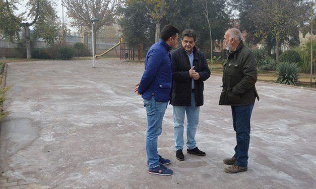 El parque de San Isidro mejora su accesibilidad