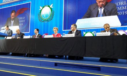 Carmen Quintanilla participa en la Cumbre Mundial 2019 sobre Paz, Seguridad y Desarrollo Humano en Seúl