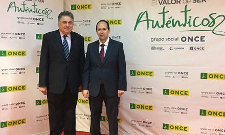 José Martínez, reelegido presidente del Consejo Territorial de la ONCE en Castilla-La Mancha, y Carlos Javier Hernández renueva como delegado