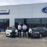 """Ford Serramotor entrega el premio de su concurso """"PRUEBA EL NUEVO FORD FOCUS 2019"""""""