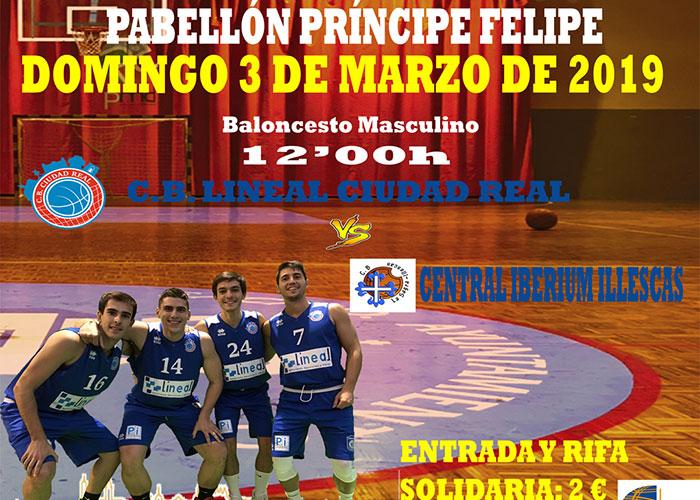 El Club Baloncesto Lineal Ciudad Real se la juega ante Central Iberum Illescas