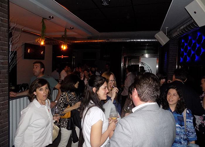"""Labana Music organizó """"La noche de las burbujas"""""""