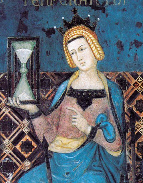 Reloj de arena: pasado, presente, futuro