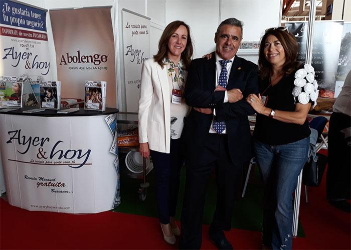 Numerosos invitados en el stand de Ayeryhoy de Fenavin 2019, la edición más ambiciosa de su historia