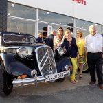 Ciudauto celebra el centenario de Citroën en sus instalaciones