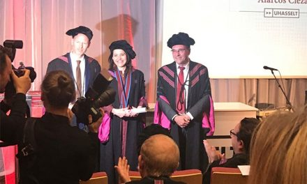 La ciudadrealeña Alarcos Cieza Moreno, investida doctora honoris causa por la Universidad belga de Hasselt