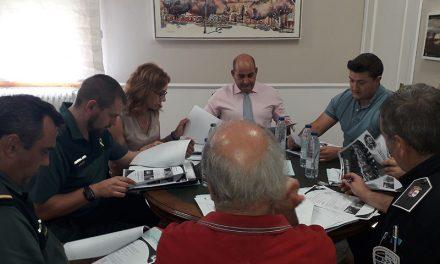 Herreros y Triguero presiden la Junta de Seguridad de Pozuelo de Calatrava