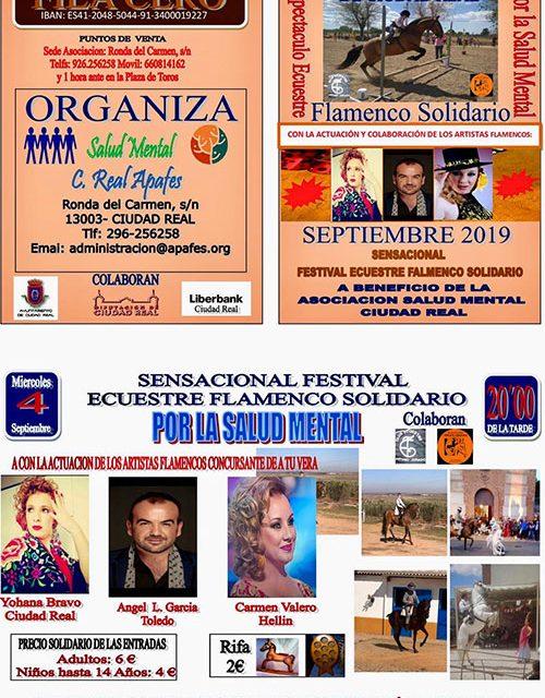 Apafes les espera a todos el próximo 4 de septiembre, en la plaza de toros, en un gran espectáculo ecuestre-flamenco