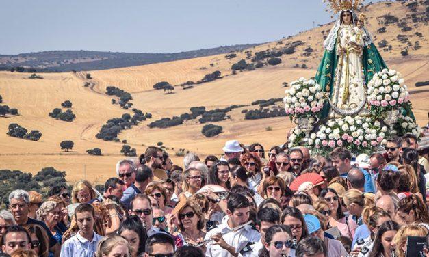 Pozuelo de Calatrava festejó la romería de septiembre de Ntra. Sra. María Cabeza de los Santos