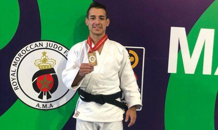 Jorge Galán Barbosa, campeón del mundo de judo de -60 kg de veteranos en Marrakech