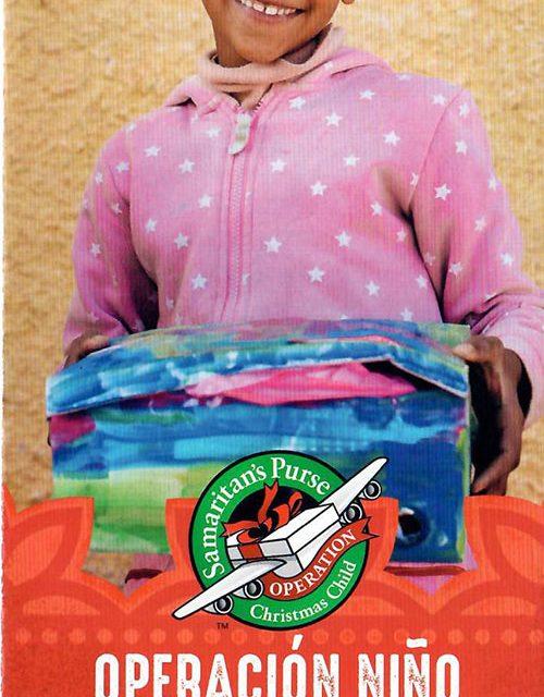 La Operación Niño de la Navidad con sus cajitas de regalo se dirige este año a los niños saharauis y de Togo