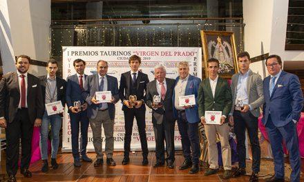 Brillante acto de entrega de los I Premios Virgen del Prado