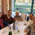 Tradicional comida de Navidad de la Revista Ayer&hoy con sus habituales colaboradores