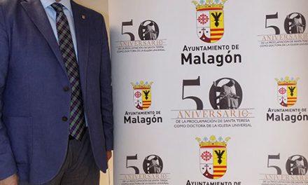 Malagón edita un logo conmemorativo del 50 aniversario de Santa Teresa como doctora de la Iglesia