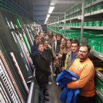 Visita del IES Antonio Calvín (Almagro) a Bidafarma