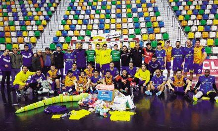 Sobresaliente balance de dos nuevas iniciativas solidarias del Club Balonmano Caserío