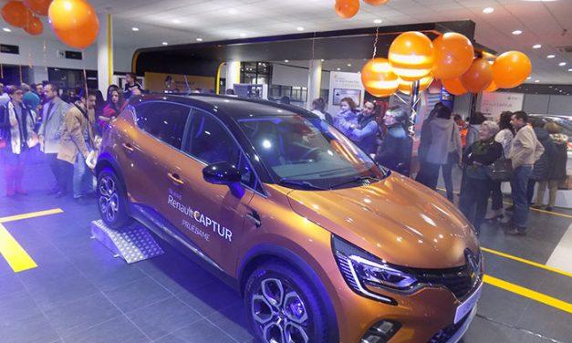 Aries Ciudad Real presentó en sus instalaciones el nuevo modelo Renault Captur
