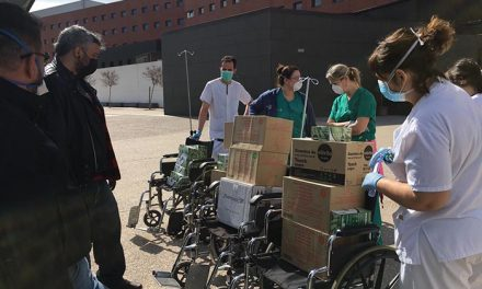 Dépilclub dona 20.000 guantes al Hospital de Ciudad Real y a la empresa de limpieza Nexter, y quiere ahora hacer mascarillas