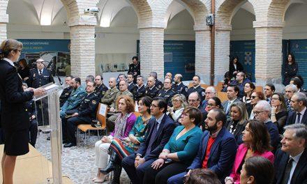 """Carmen Olmedo asiste a la inauguración de la exposición conmemorativa """"40 años de incorporación de la mujer en la Policía Nacional"""""""