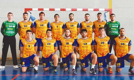 El Club Balonmano Caserío unido, junto al resto de clubes de Ciudad Real, contra el COVID-19