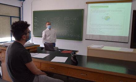 Los institutos de Daimiel atienden alumnos de la EvAU en plena desescalada mientras ven el próximo curso con dudas