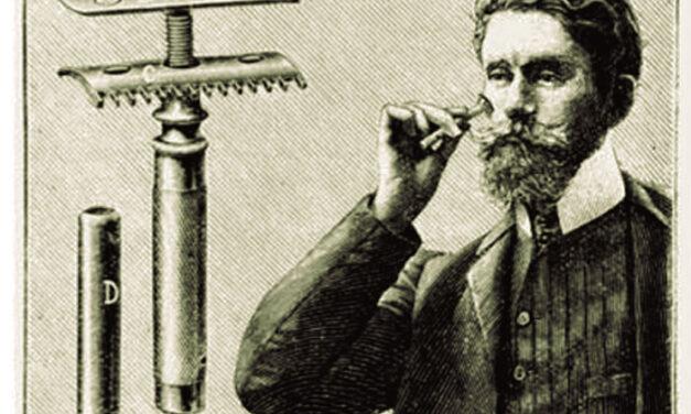 La primera maquinilla de afeitar