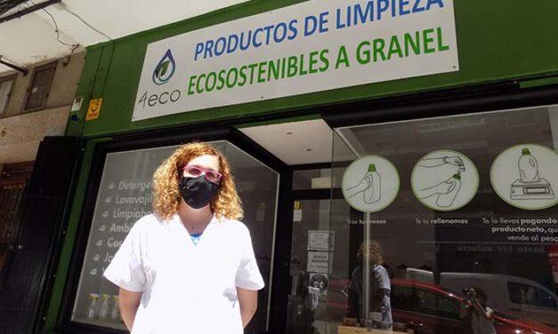 '4Eco Ciudad Real', detergentes y productos de limpieza a granel sostenibles económica y medioambientalmente