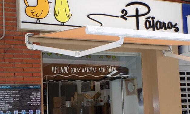 '2 Pájaros' se muda a la calle Toledo cerca del Palacio Provincial con una original heladería artesana, tés fríos y su ya conocida y selecta librería