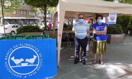 Recogida de emergencia del Banco de Alimentos en la plaza del Pilar hasta el 5 de julio