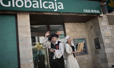 El Festival de Almagro y Globalcaja presentan su iniciativa conjunta 'Poderoso caballero… en el cajero'
