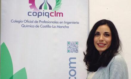Sara Mateo Fernández, Decana del Colegio Oficial de Profesionales en Ingeniería Química de CLM (COPIQCLM)