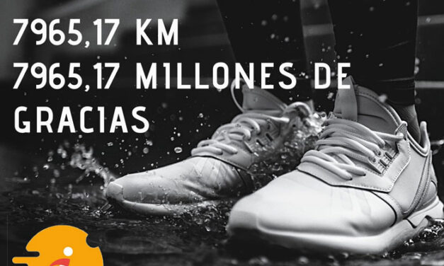 El Reto 2020 del Circuito de Carreras reúne a casi 600 corredores y supera los 7.900 kilómetros