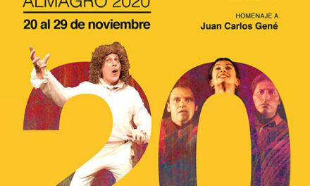 Plataformas virtuales para la exhibición de espectáculos, coloquios y actividades especiales en el XX Festival Iberoamericano de Teatro Contemporáneo de Almagro