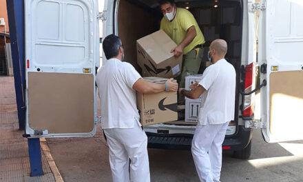El Gobierno de Castilla-La Mancha reparte más de 247.000 artículos de protección frente al coronavirus en la provincia de Ciudad Real
