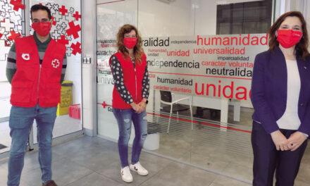 Rosario Lafuente, delegada especial con funciones de presidenta provincial de Cruz Roja