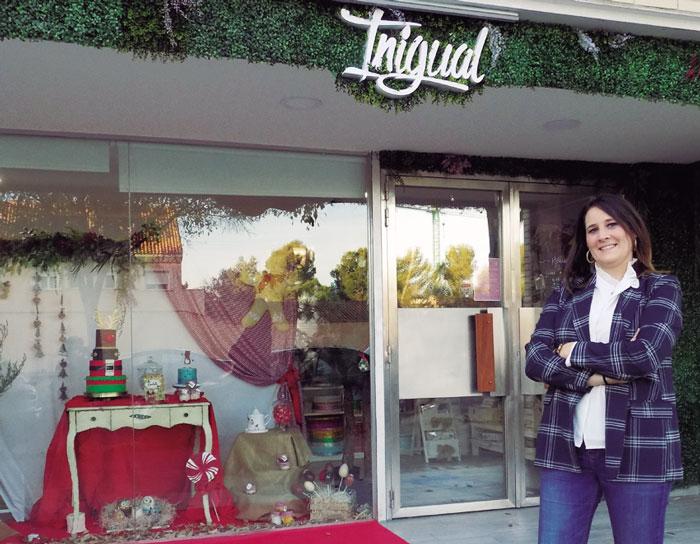 Tienda-escuela y obrador de repostería creativa 'Inigual'