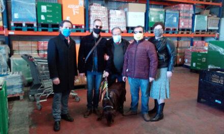 La ONCE dona más de 1.000 kilos de productos al Banco de Alimentos de Ciudad Real