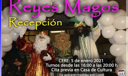 Los Reyes Magos harán una recepción oficial a los niños y niñas de Miguelturra durante la tarde del martes 5 de enero