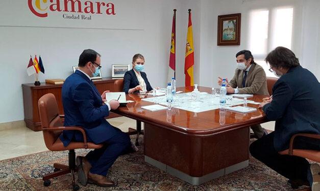 La embajadora de Moldavia visita la Cámara de Ciudad Real