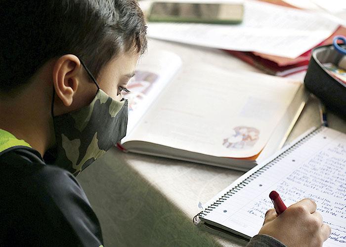 Curso escolar con pandemia