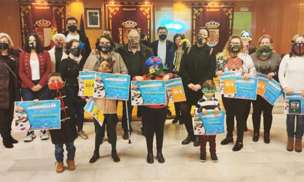 Entregados los premios del concurso de diseños de mascarillas higiénicas
