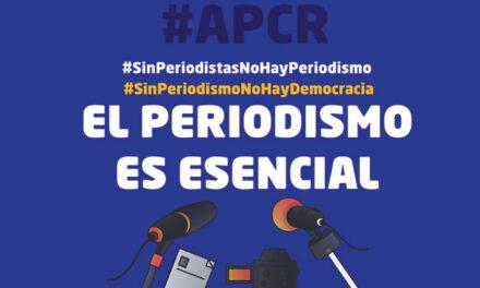La APCR reivindica el periodismo como actividad esencial en el Día Mundial de la Libertad de Prensa
