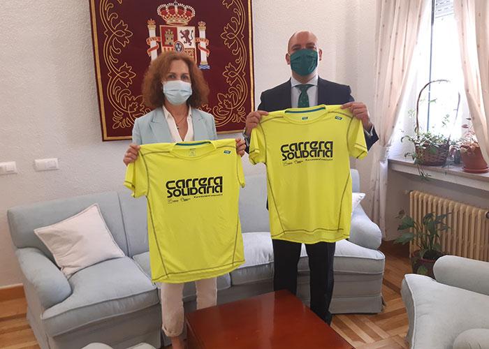 La subdelegada del Gobierno apoya la 9ª Edición de la Carrera Virtual Solidaria de la Fundación Eurocajarural