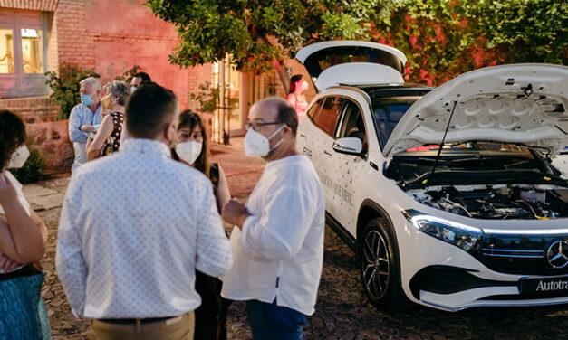 Autotrak lleva a escena en Almagro el nuevo EQA 100% eléctrico