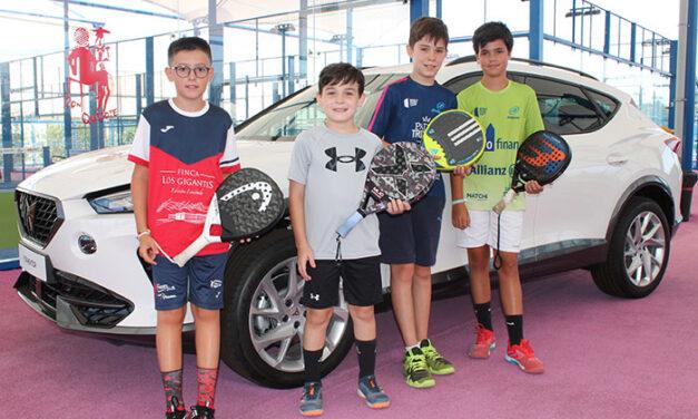 Comatur Ciudad Real organiza el I Open de Pádel de la marca CUPRA